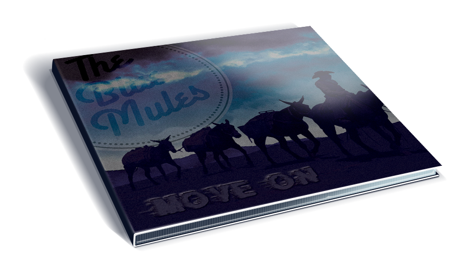 Blue Mules Move on new CD Cover
